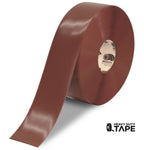 "3"" BROWN Solid Color Tape - 100'  Roll - FloorTapeOutlet.com"