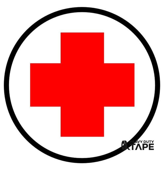 First Aid Station Here Sign - FloorTapeOutlet.com