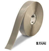 "2"" GRAY Solid Color Tape - 100' Roll - FloorTapeOutlet.com"