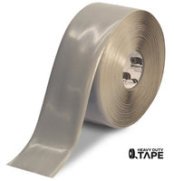 "4"" GRAY Solid Color Tape - 100' Roll - FloorTapeOutlet.com"