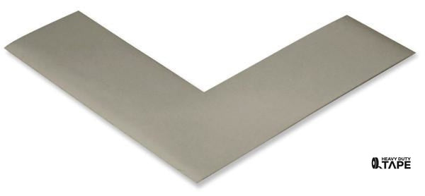 "2"" Wide Solid GRAY Angle - Pack of 25 - FloorTapeOutlet.com"