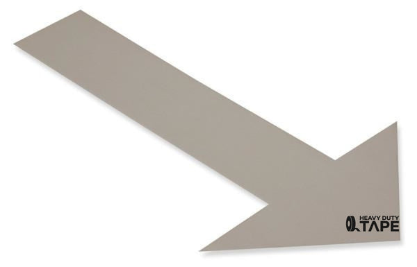 Solid GRAY Arrow - Pack of 50 - FloorTapeOutlet.com