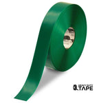 "2"" GREEN Solid Color Tape - 100' Roll - FloorTapeOutlet.com"