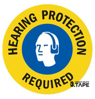 Hearing Protection Required (multi-color) - FloorTapeOutlet.com