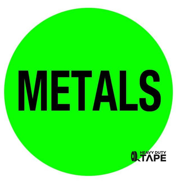 METALS Sign - FloorTapeOutlet.com