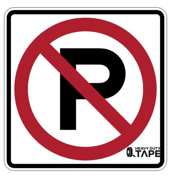 No Parking Permitted Sign - FloorTapeOutlet.com