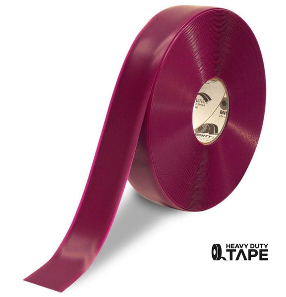 "2"" PURPLE Solid Color Tape - 100'  Roll - FloorTapeOutlet.com"