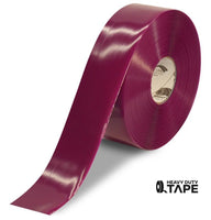 "3"" PURPLE Solid Color Tape - 100'  Roll - FloorTapeOutlet.com"