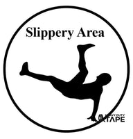 Slippery Area Ahead Sign - FloorTapeOutlet.com
