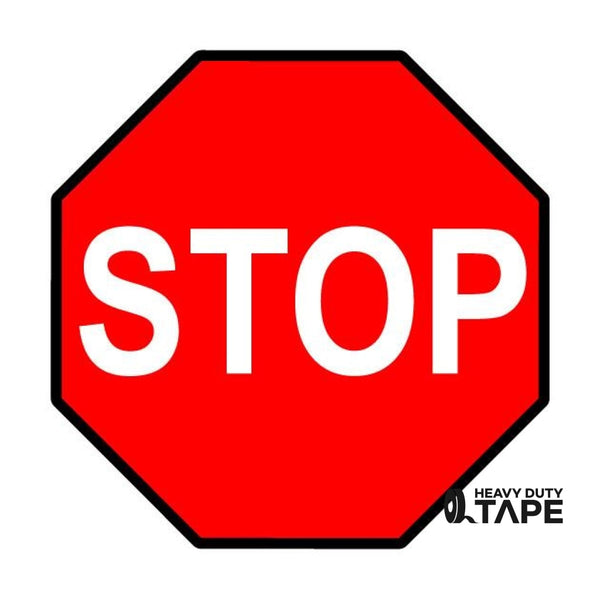 "STOP Sign - 16"" - FloorTapeOutlet.com"