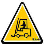 Caution Tow Motor Ahead Sign - FloorTapeOutlet.com