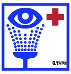 Eye Washing Station Location Sign - FloorTapeOutlet.com