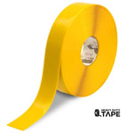 "2"" YELLOW Solid Color Tape - 100' Roll - FloorTapeOutlet.com"