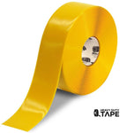 "3"" YELLOW Solid Color Tape - 100' Roll - FloorTapeOutlet.com"