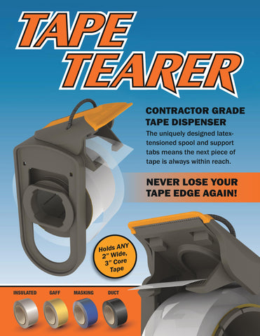 Tape Tearer- The Ultimate Tape Dispenser - The Universal Tape Gun