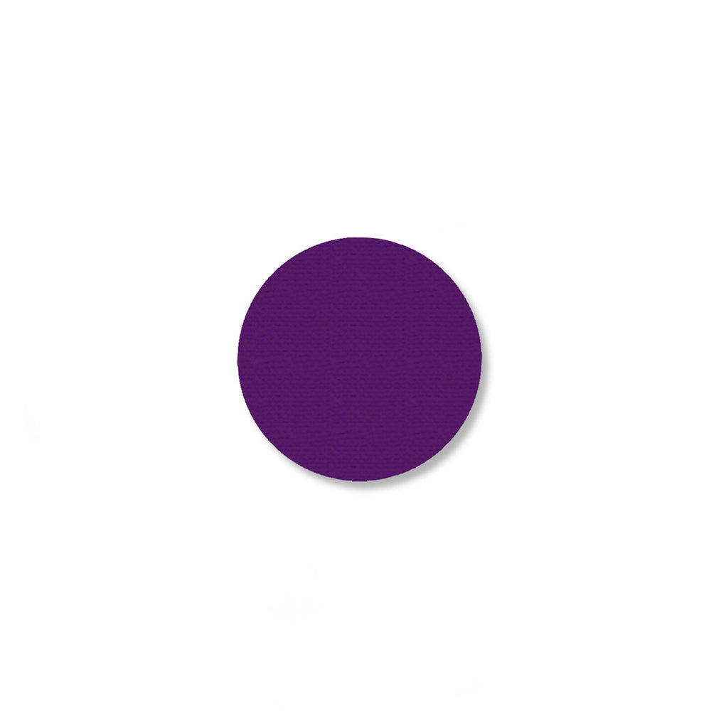 "1"" PURPLE 5s Floor Marking DOT - Pack of 200"