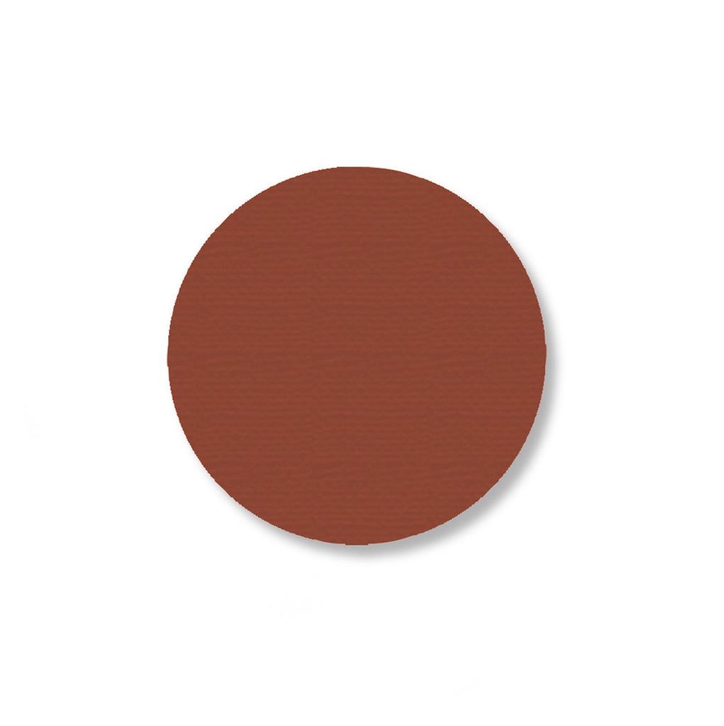 "2.7"" BROWN Solid DOT - Pack of 100"