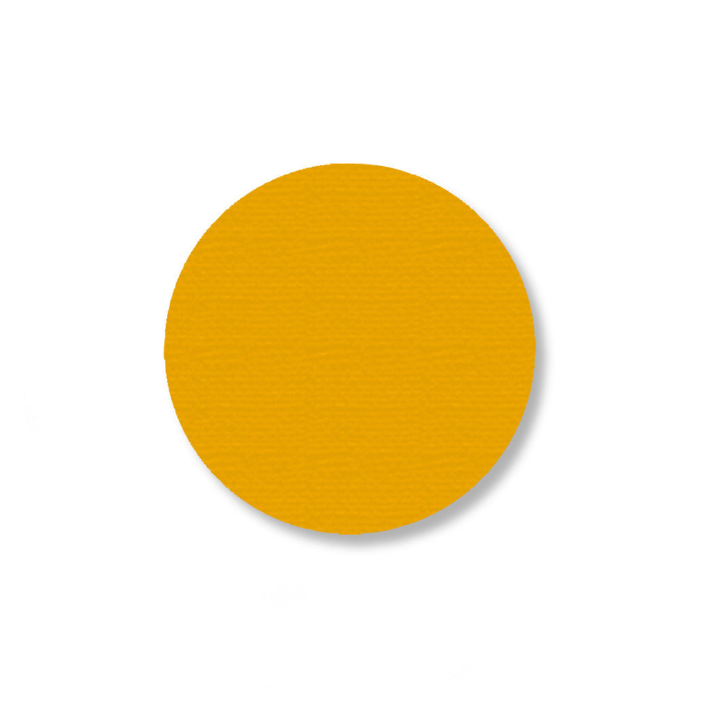 "2.7"" YELLOW Solid DOT - Pack of 100"