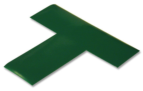"2"" Wide Solid GREEN T - Pack of 25"