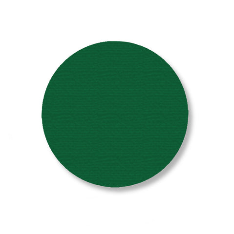 "3.5"" GREEN Solid DOT - Stand. Size - Pack of 100"