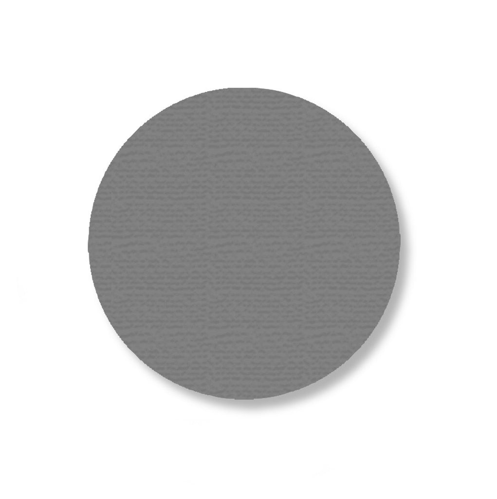 "3.5"" GRAY Solid DOT - Stand. Size - Pack of 100"