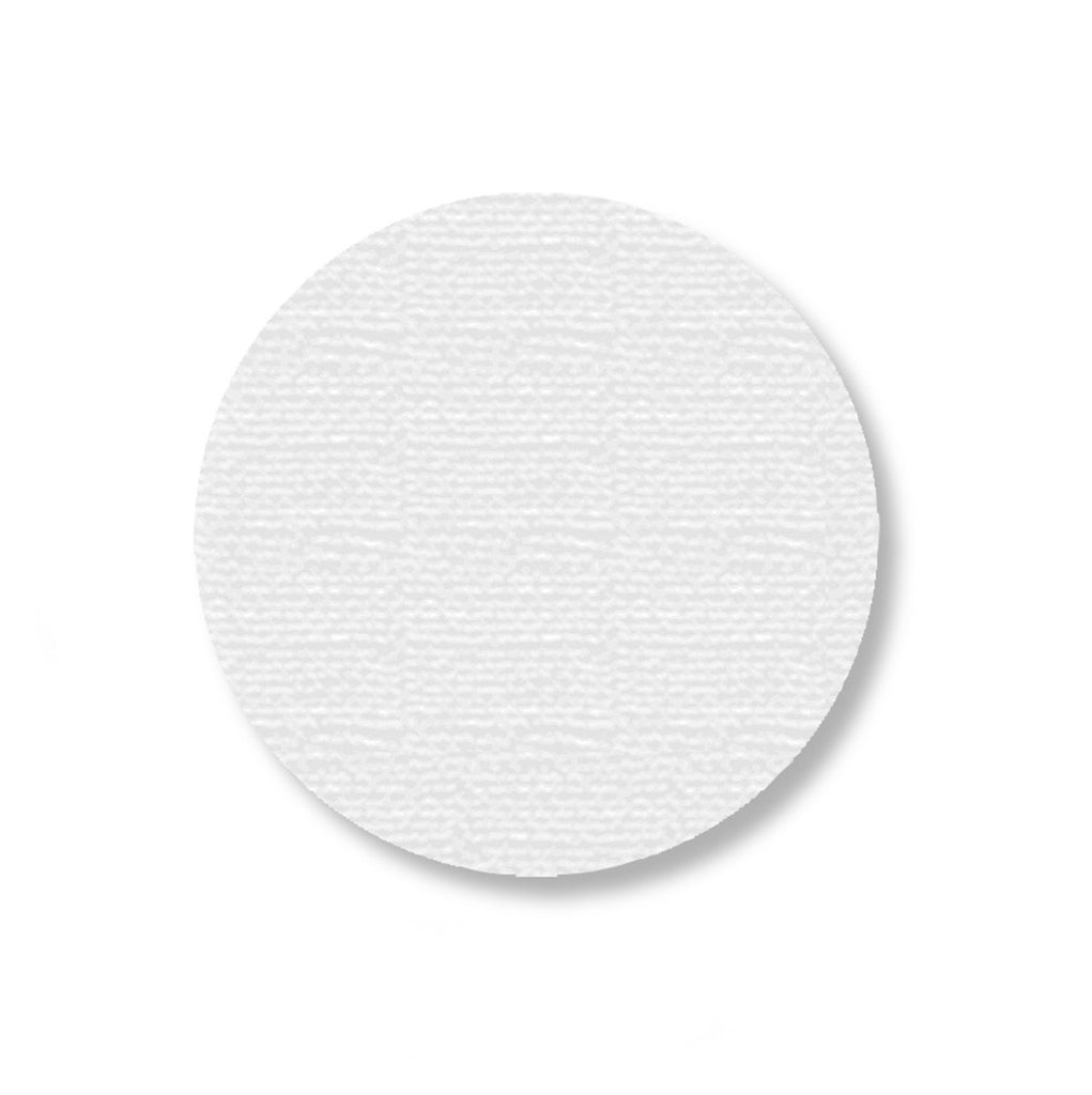 "3.5"" WHITE Solid DOT - Stand. Size - Pack of 100"