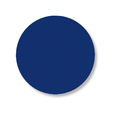 "3.75"" BLUE Solid DOT - Pack of 100"