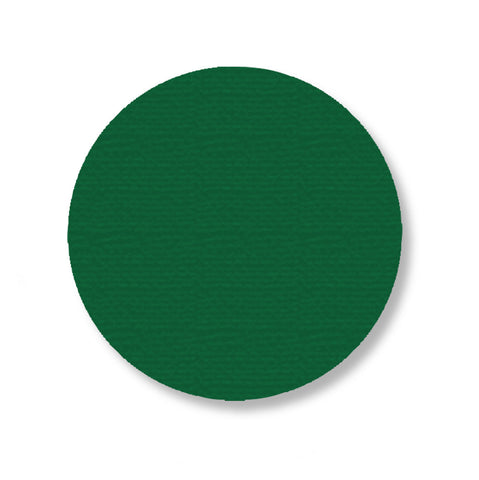"3.75"" GREEN Solid DOT - Pack of 100"