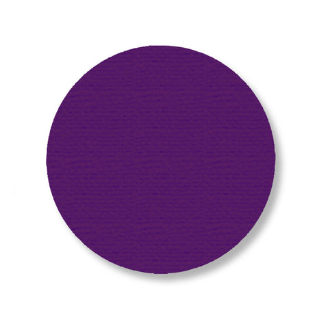 "3.75"" PURPLE Solid DOT - Pack of 100"