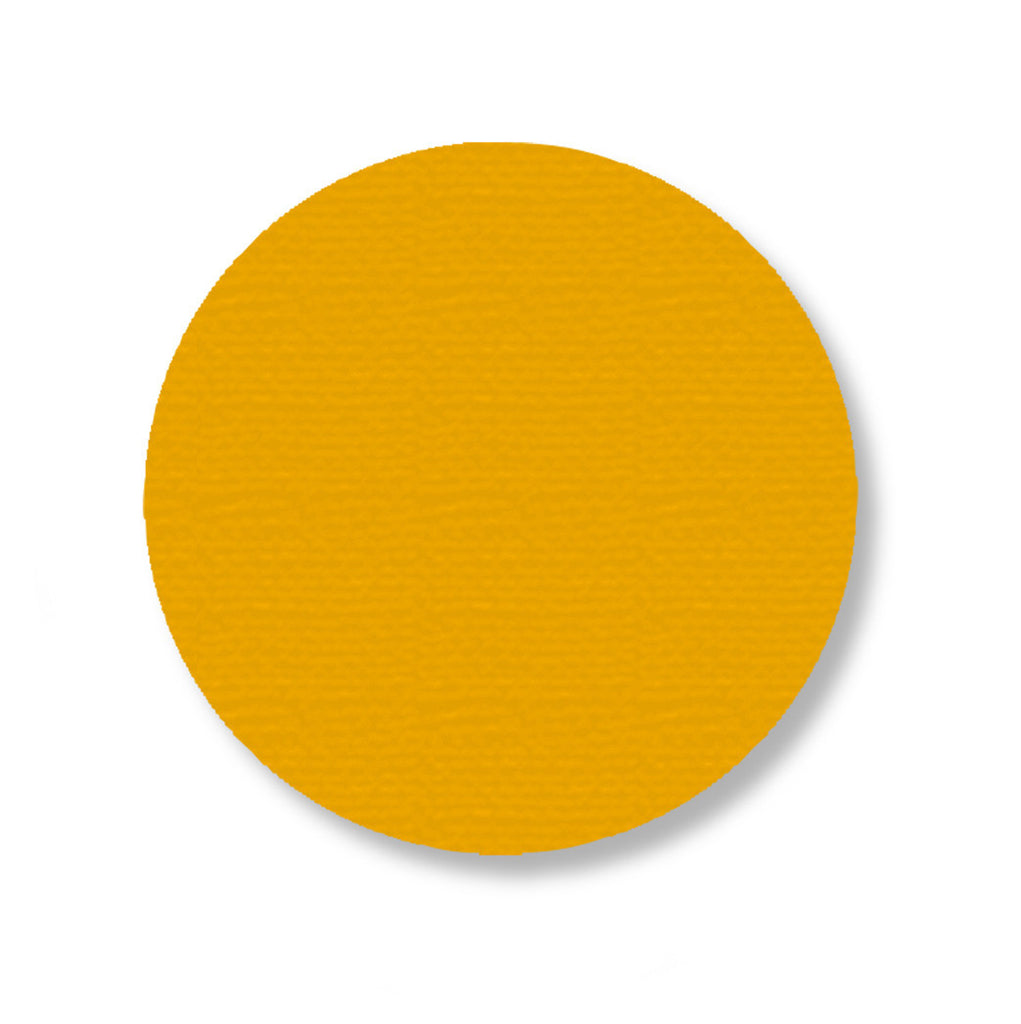 "3.75"" YELLOW Solid DOT - Pack of 100"