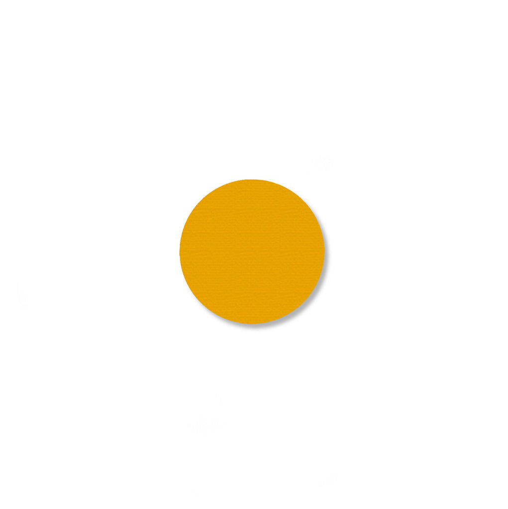 "3/4"" YELLOW Solid DOT - Pack of 200"