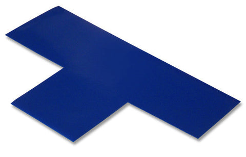 "3"" Wide Solid BLUE T - Pack of 25"