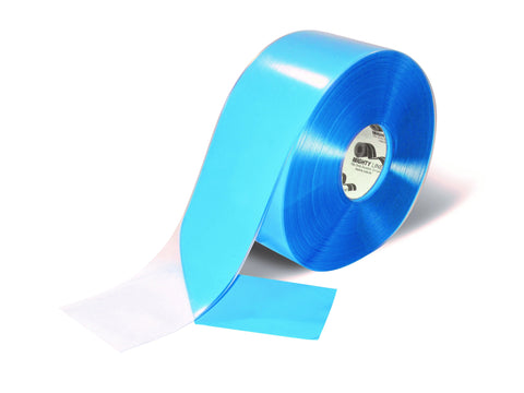"4"" Clear Mighty Line Floor Tape - 100' Roll"