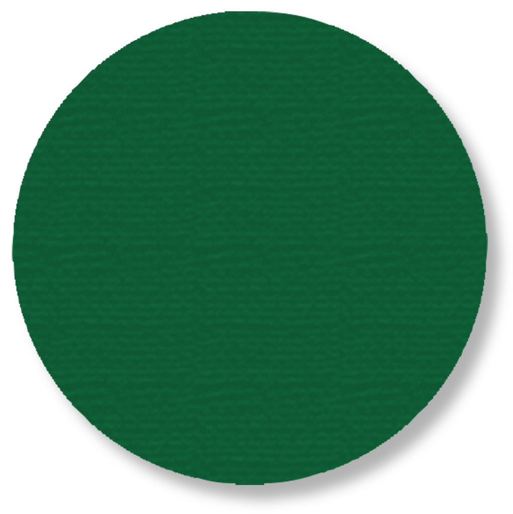 "5.7"" GREEN Solid DOT - Pack of 50"