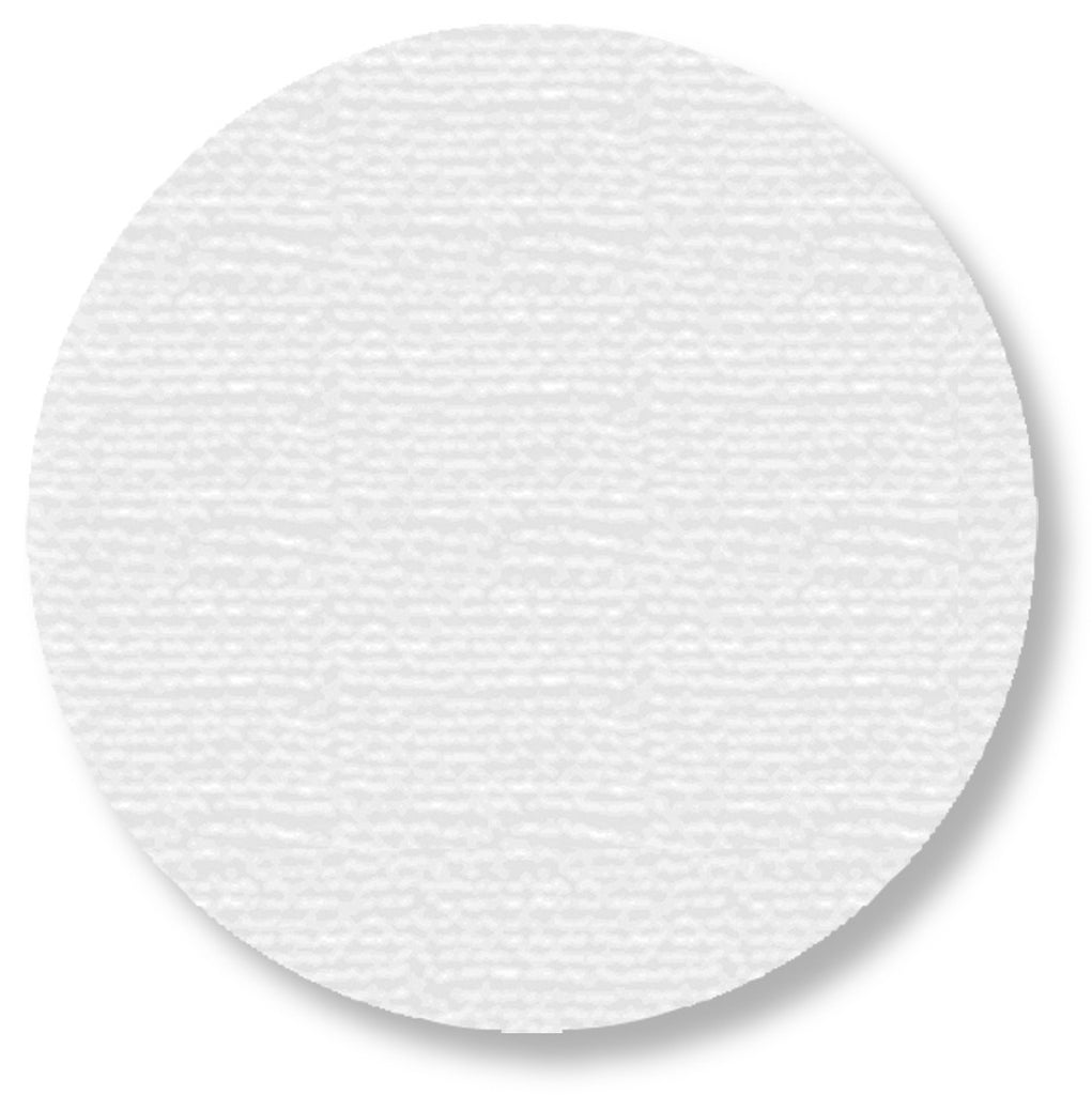 "5.7"" WHITE Solid DOT - Pack of 50"