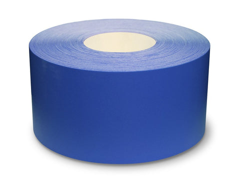 "4"" Blue Ultra Durable 5s Floor Tape x 100 Feet - 971-B4 (Better)"