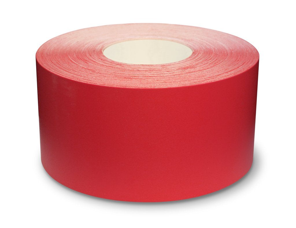 "4"" Red Ultra Durable 5s Floor Tape x 100 Feet - 971-R4 (Better)"