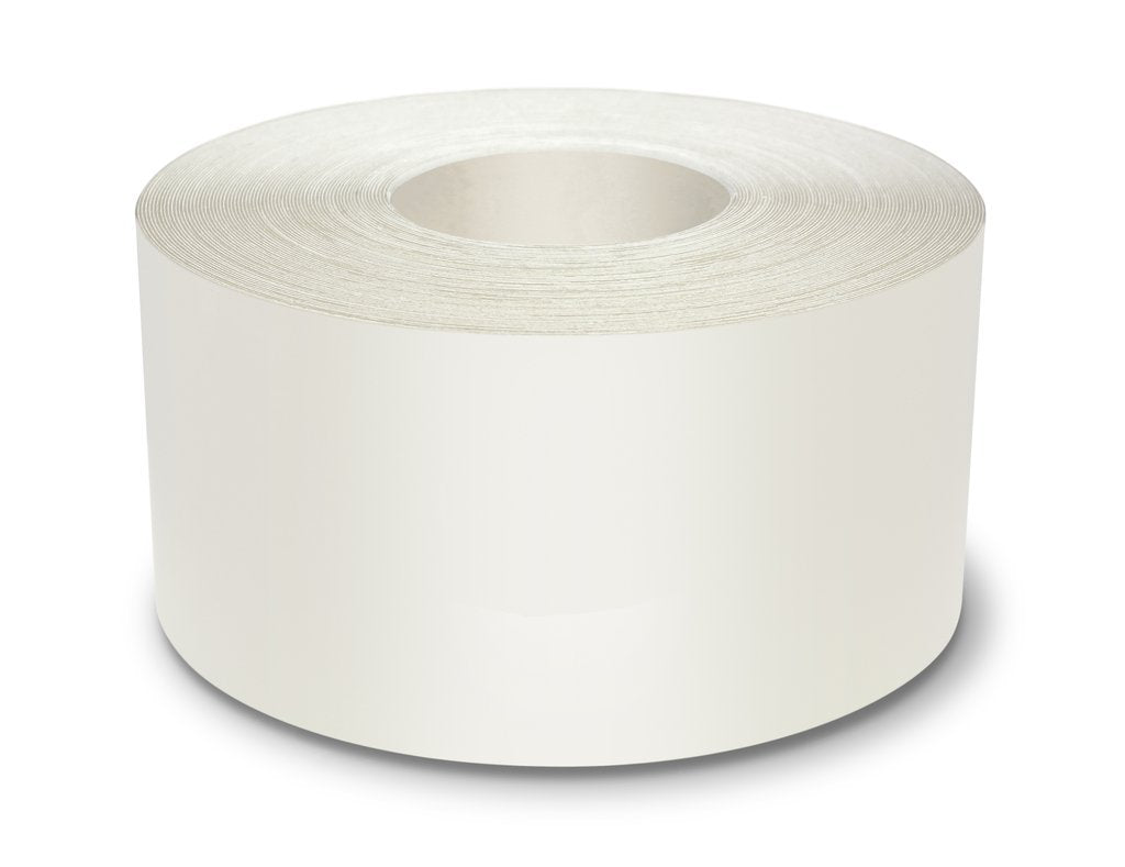 "4"" White Ultra Durable 5s Floor Tape x 100 Feet - 971-W4 (Better)"