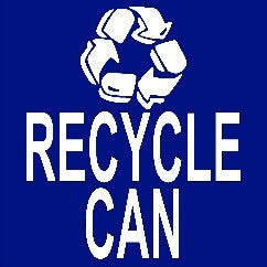 Recycle Can 24""