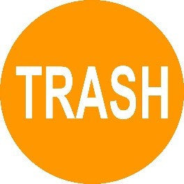 Trash - Orange