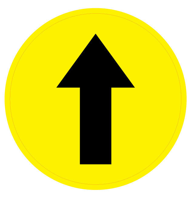 Directional Arrow Sign - 1 Sign