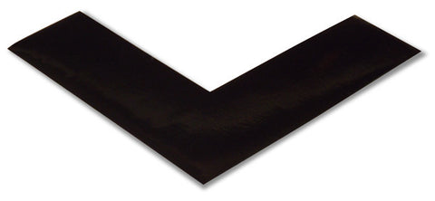 "2"" Black 5s Floor Marking Angle - 5s Warehouse - Pack of 25"