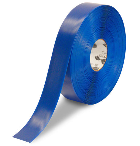 2 Inch Blue 5S Floor Tape - Mighty Line - 100 Foot Roll
