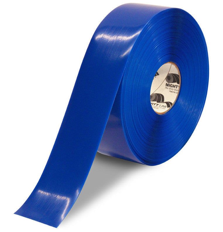 10749161d5f 3 Inch Blue 5S Floor Tape - Mighty Line - 100 Foot Roll | Shop Mighty Line  Safety Floor Tapes, Signs and all your Mighty Line needs