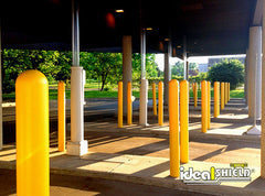 1/8 Inch Yellow Bollard Cover