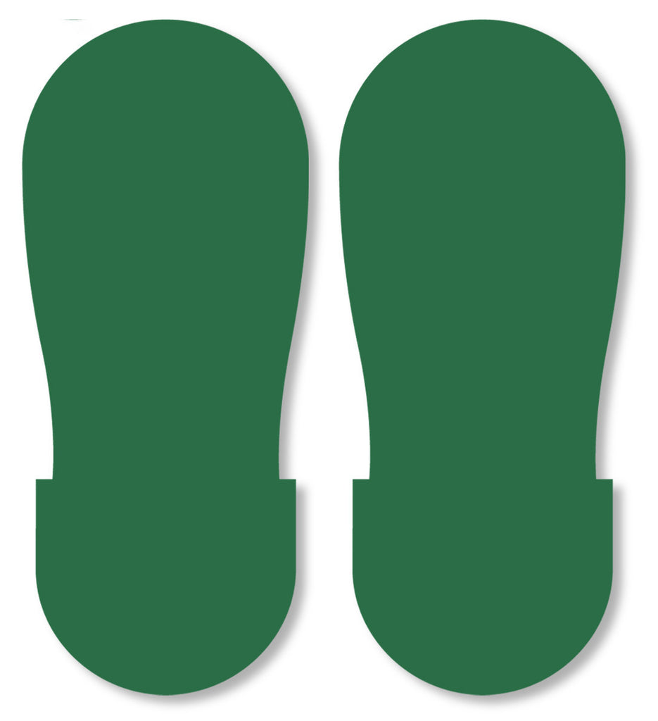 GREEN BIG Footprint - Pack of 50