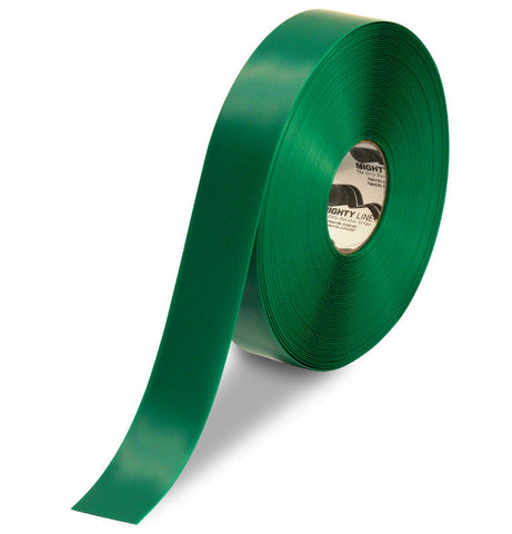 2 Inch Green 5S Floor Tape - Mighty Line -100 Foot Roll