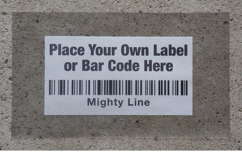 "Mighty Line Heavy Duty Label Protectors 6"" wide by 10"" long - Pack of 50"