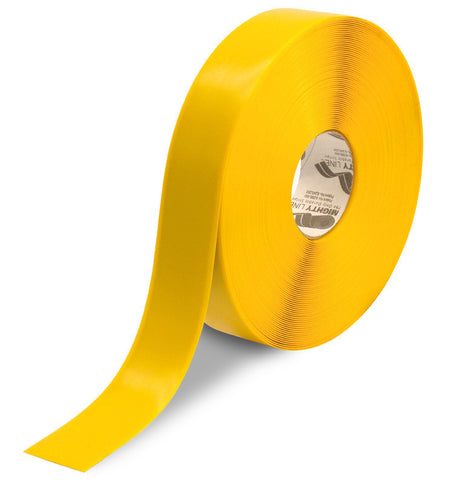 2 Inch Yellow 5S Floor Tape - Mighty Line - 100 Foot Roll
