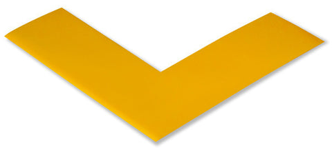 "2"" YELLOW 5s Floor Marking Angle - 5s Warehouse - Pack of 25"